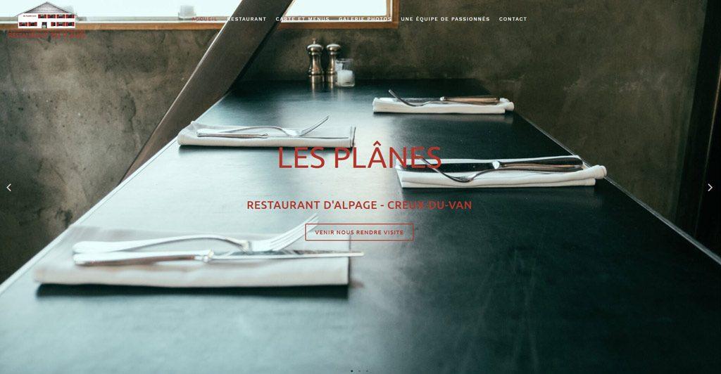Restaurant- Les Plânes