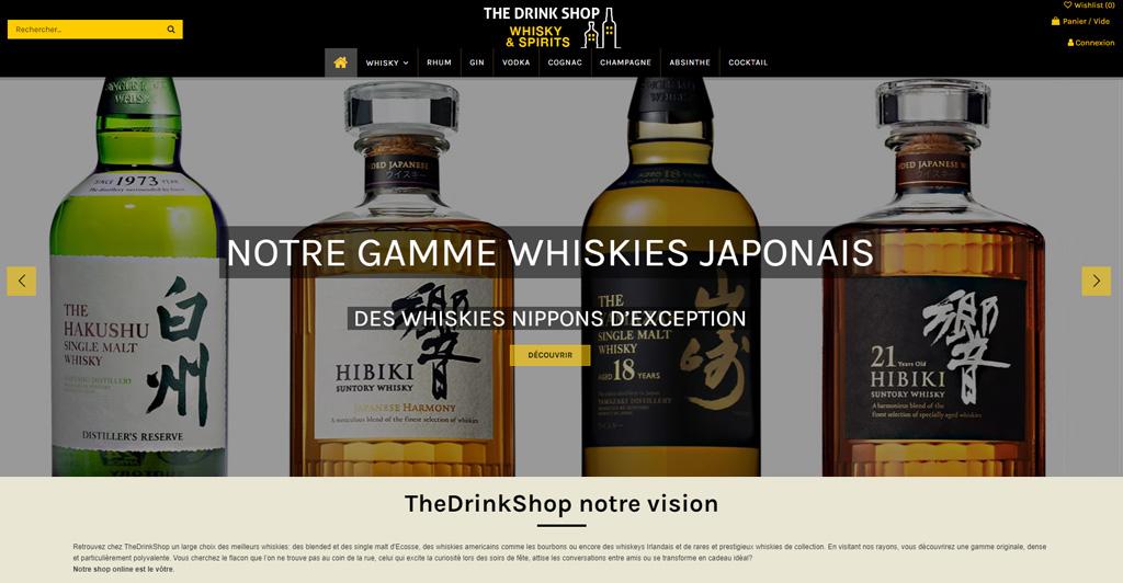 E-Commerce - The DrinkShop